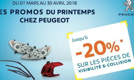 STAFIM Peugeot lance saPromo Printemps