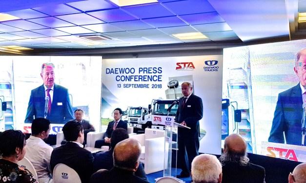 LA STA représentante officielle des camions DAEWOO