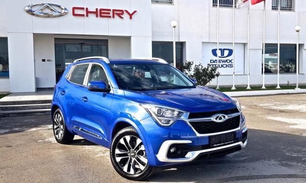 Nouveau SUV Chery  Tiggo 4 de Chery STA Tunisie