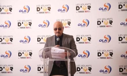 1ere édition «Les Volants d'Or» by tunisieauto.tn et Ola Energy