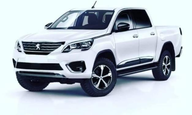 Nouveau Pick Up Peugeot PSA pour 2020