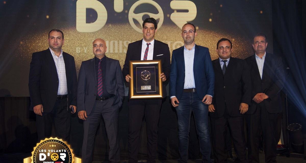 Aymen Montacer remporte le «Volant d'or Best Sales Manager 2018»