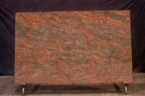 Red Multicolours Granite