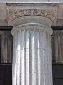 Marbles Doric capital order