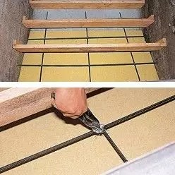traverse armature escalier