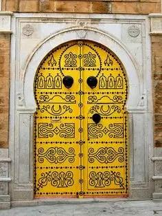 la porte célèbre de Tunis