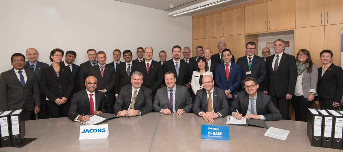 Jacobs Sign Three Year EPCM Deal With BASF