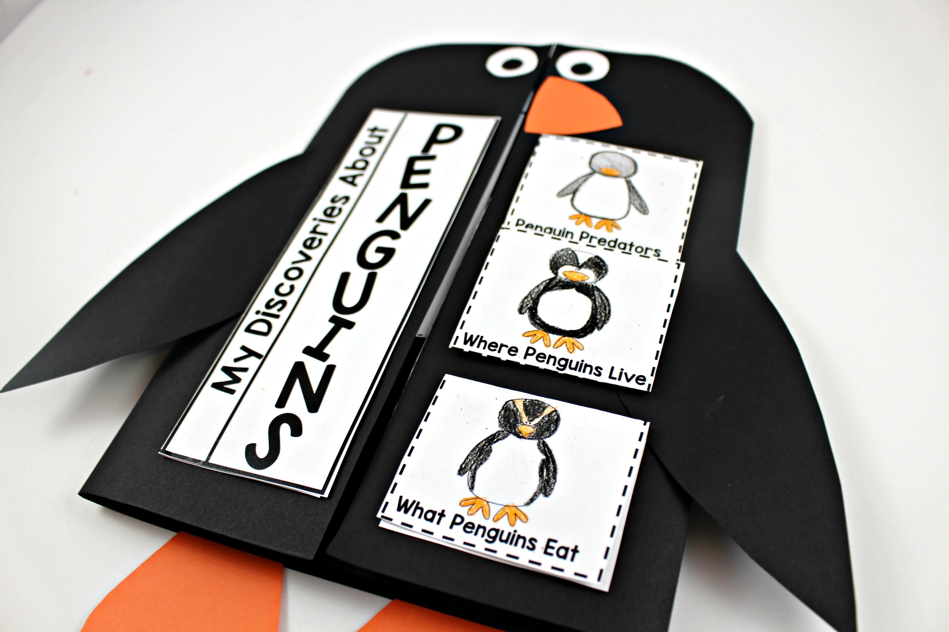 Penguin Activities For 2nd Grade