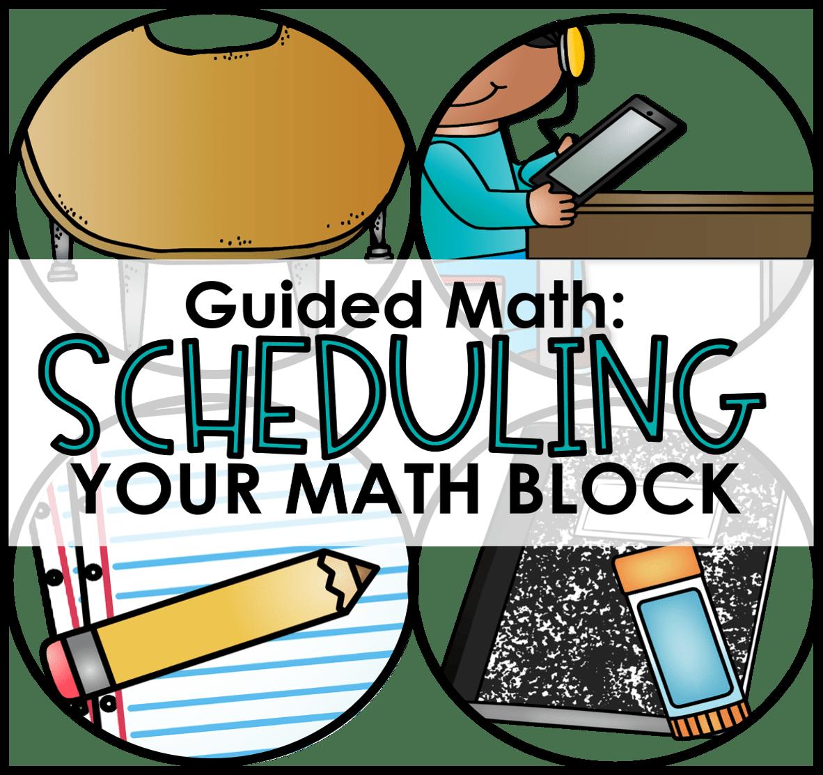 Guided Math Clipart