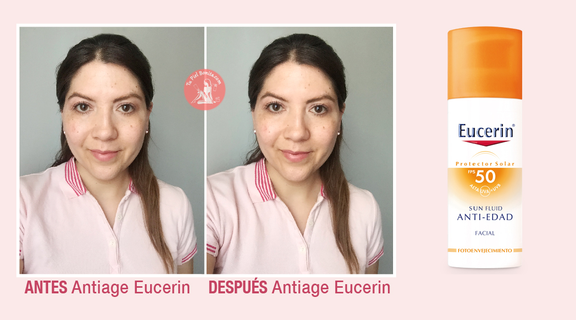 Review Eucerin Sun Fluid Anti Age Fps 50 Tupielbonita Com