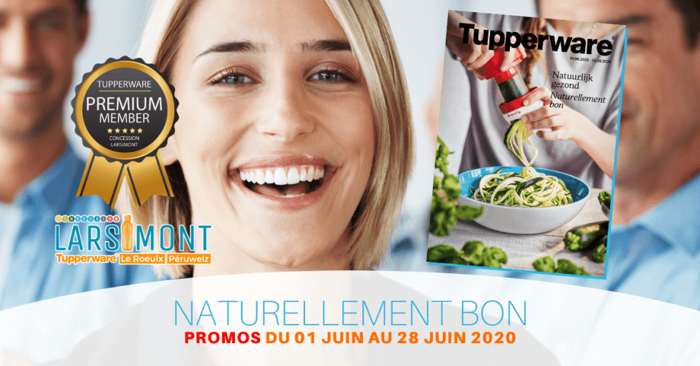 Tupperware Cover Juin 2020