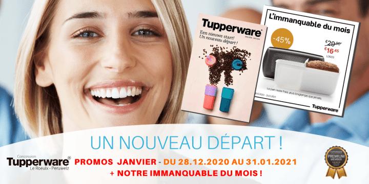 Promo Tupperware janvier - Belgique