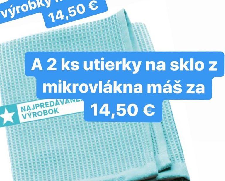 Tupperware akcia utierky na sklo - Tupperware showroom Nitra