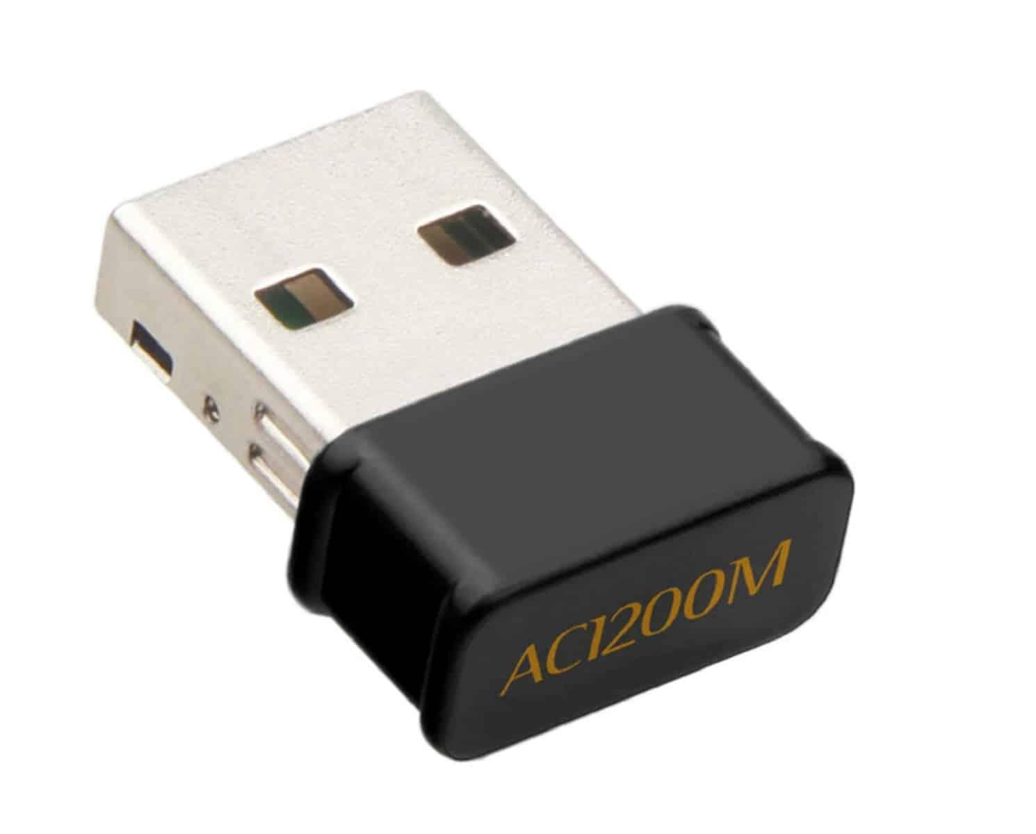 Controlador Mini Wifi Tarjeta Inalambrica Doble Banda USB 2.4G 5G 1200Mbps