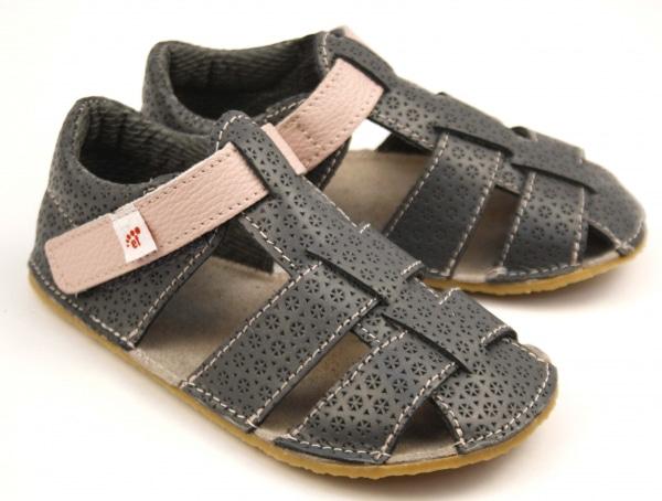 EF Barefoot sandaalid hall-roosa