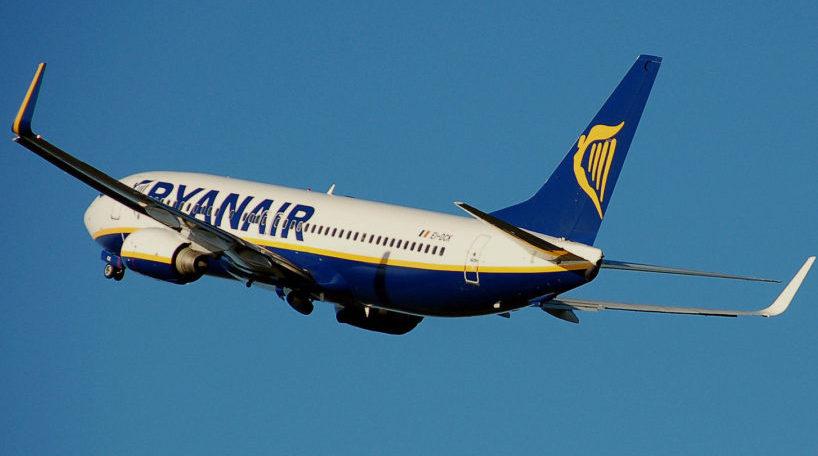 Ryanair comienza a cobrar por el equipaje de mano a partir de noviembre