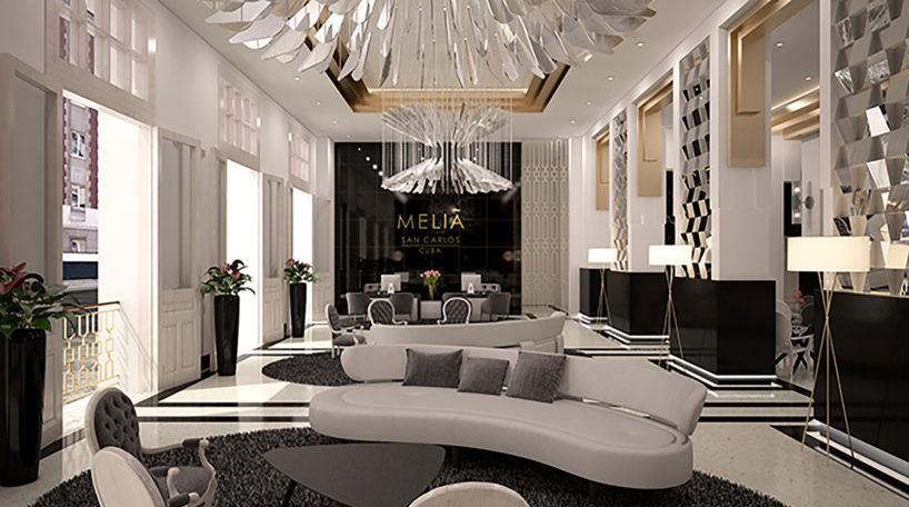 Hotel de Meliá en Cuba