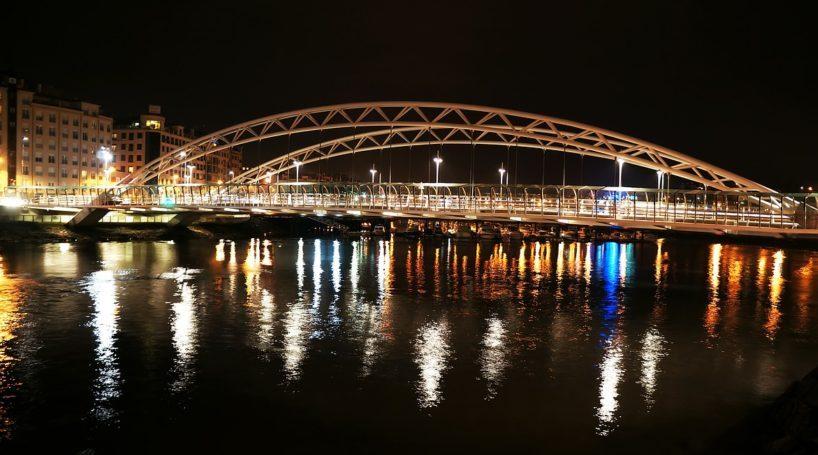 El Río Lérez atraviesa la ciudad de Pontevedra