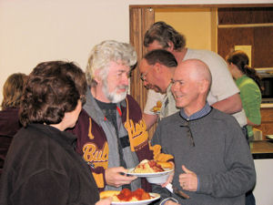 Don and some frineds at the benefit
