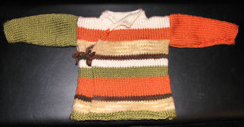 Many color Yoda sweater.