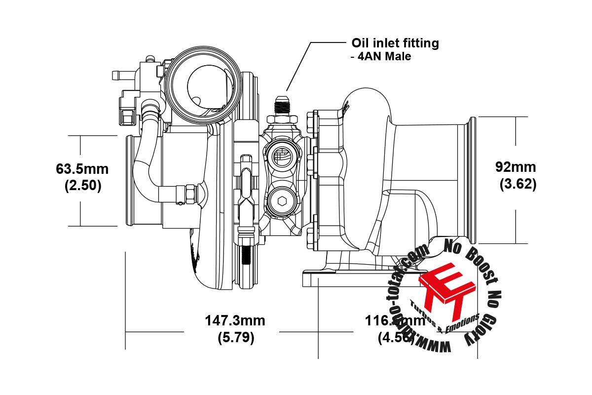 Efr A Turbolader B1 Frame