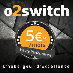 o2switch 5 euros