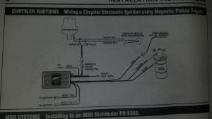 MSD Streetfire Igntion box installation  Turbo Dodge