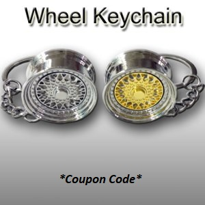 Wheel Keychain