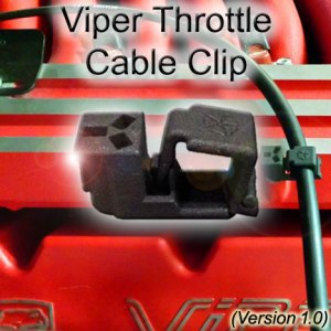 Dodge Viper GenII GTS Throttle Cable Clip 1.0