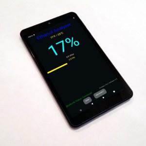 Android Tablet w/ Preloaded EthanolAnalyzer App