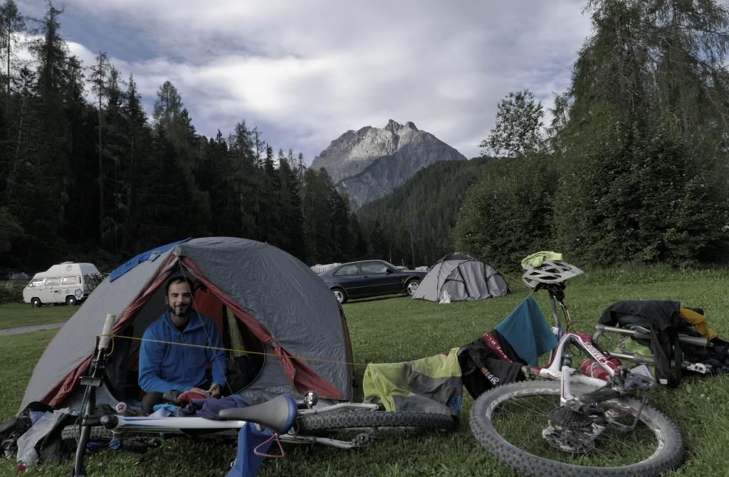 dreilander mountainbike campeggio scuol