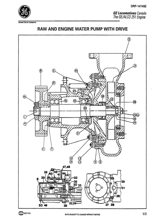 Alco 251 Engine Emd Caterpillar Alco Amp Ge Aftermarket