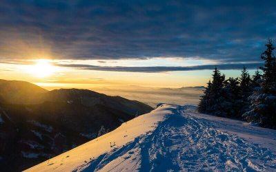 Rozprávková zimná túra na Lysec vo Veľkej Fatre