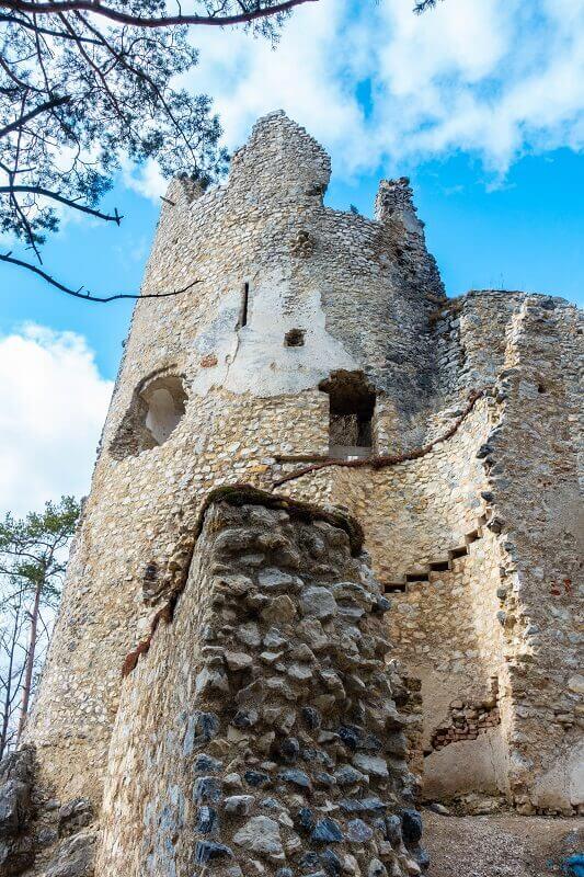 Blatnický hrad v Turčianskej záhradke