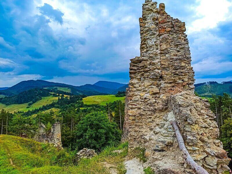 Turiec - Sklabinský hrad
