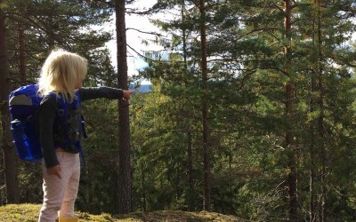 Telttur og klatring på Skullerud