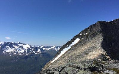 Topptur til Snøfjell i Innerdalen