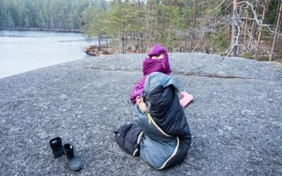 Overnattingstur i Tiveden nasjonalpark