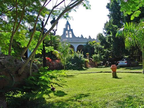 hacienda blanca flor, campeche
