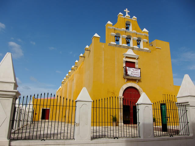 iglesia de el dulce nombre de jesús, campeche