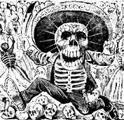 el espectro del cementerio