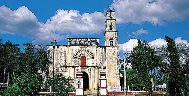 templo de san luis obispo, campeche