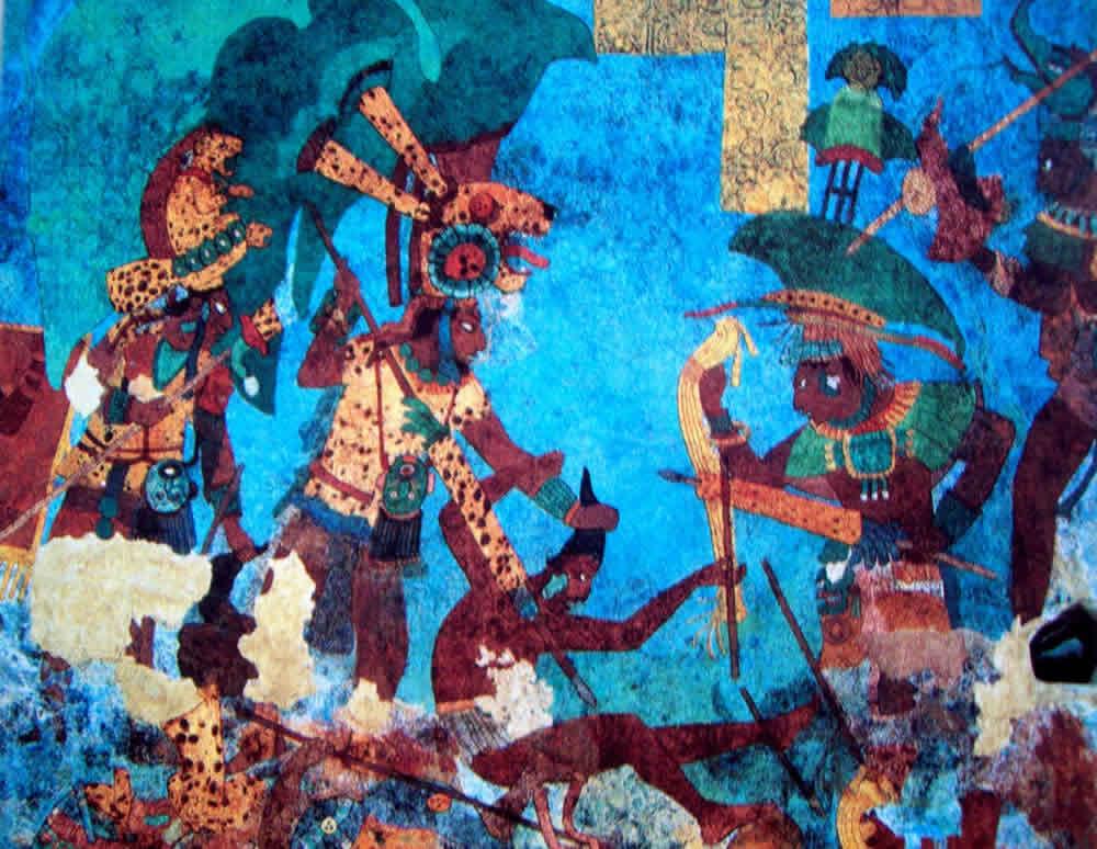 Rostros y Murales Mayas, Cancún