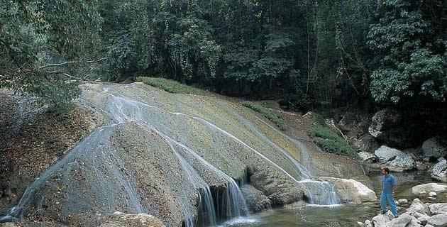 Balneario Agua Blanca, Tabasco