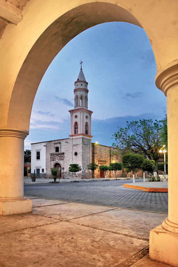 Templo de San Juan de Carapoa, Sinaloa