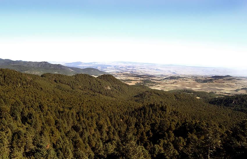 Montañismo en Acopinalco del Peñón, Tlaxcala