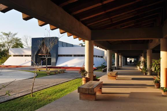 Museo de Sitio en Comalcalco, Tabasco