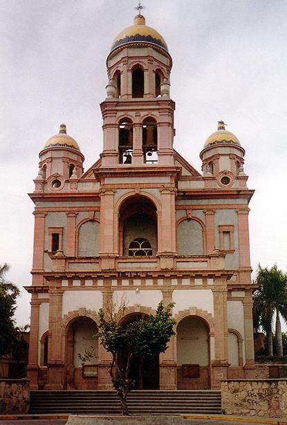 Templo del Santuario, Sinaloa