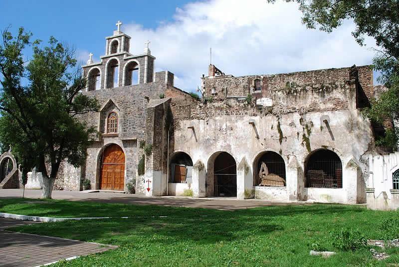 Ex Convento de Acatlán, Hidalgo