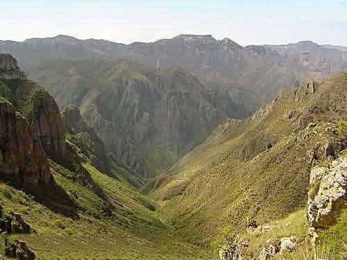Geografía de las Barrancas del Cobre